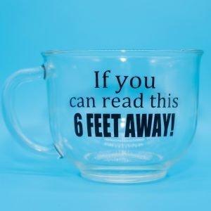 6 FEET AWAY!!