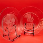 King & Queen Dinner Plate set