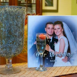 Champagne Wedding Favors Set of 10