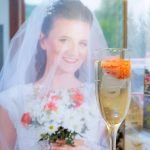 Bride Champagne Glass for Wedding